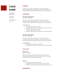 Free Cv Templates 205 To 211 Latest Resume Format How To Choose