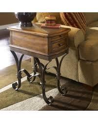 riverside stone forge round dining table set. riverside stone forge chairside table round dining set n