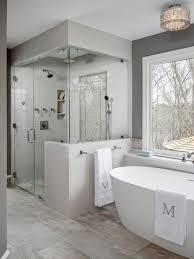 Houzz 50 Best Gray Tile Bathroom Pictures Gray Tile Bathroom