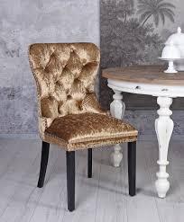 Details Zu Esszimmerstuhl Samt Gold Polsterstuhl Luxus Samtsessel Wohnzimmerstuhl Gatsby
