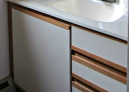 project how to transform your ugly flat panel laminate cabinets into shaker door fronts diy projects laminate cabinets shaker doors and