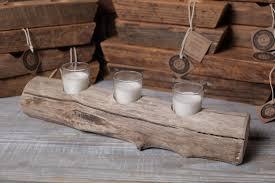 Driftwood Candle Holder (medium)