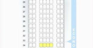 Emb E90 Jet Seating Chart Air Canada E90 Seat Map Secretmuseum
