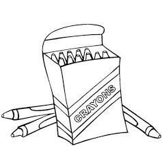Small Picture Crayons Coloring Page Coloring Home