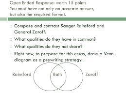 Rainsford Zaroff Venn Diagram The Most Dangerous Game Test Review Ppt Download