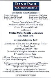 political fundraiser invite invitation copy