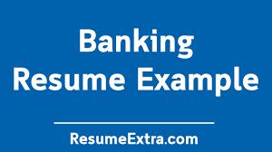 Professional Banking Resume Sample Resumeextra