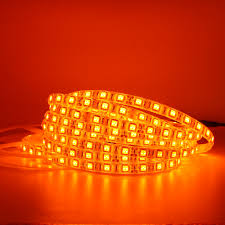 Red Led Rope Light 12v Us 1 4 26 Off 5050 3528 Led Light Bar Orange 600nm True Orange Led Light Bar Led Light With Rope Light 12v Corridor Living Room In Led Strips From