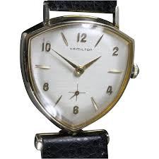 vintage watches from vintagewatches on ruby lane 1959 hamilton thor vintage men s watch