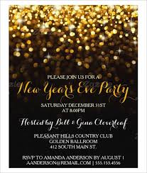 16 New Year Invitation Templates Free Download