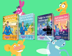 kids yoga books cosmic kids books