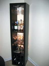 wine rack and bar ers cabinet ikea glass shelf storage
