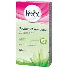 <b>Восковые полоски</b> Veet для тела для сухой кожи | Магнит Косметик