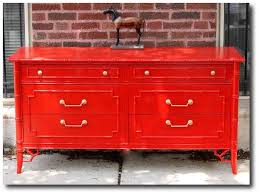 painted furniture blogsPops Of Cherry Red Painted Furniture