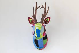 ocean sole wall art reindeer from