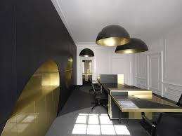 interior contemporary black modern office. Office:Black And Gold Furniture Power Office Interior Design Idea Black Contemporary Modern I