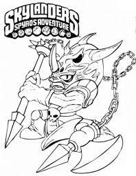 Skylanders Spyros Adventure Coloring Pages 9 Corling Books