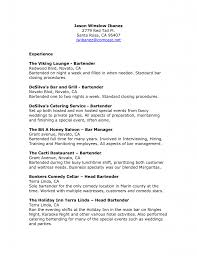 Sample Resume Of Waitress Food Service Waiter Bartender Photo