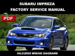 subaru outback 2005 2009 ultimate factory service repair subaru 2014 impreza wrx sti ultimate oem factory service repair fsm manual