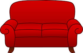living room furniture clipart. red sofa clip art living room furniture clipart g
