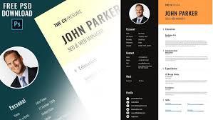 Modern Resume Pdf Template Graphic Designer Cv Template Free Download Modern