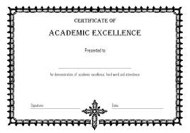 Certificate Of Excellence Template Word Best 1000 Certificate of Academic Excellence Templates Best 1000 Templates 25