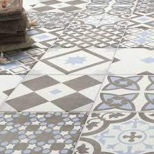 blue floor tiles. Simple Blue Patterned Floor Tiles Attractive Shop The Vibe Light Blue Wall And 223 X  Intended For 10