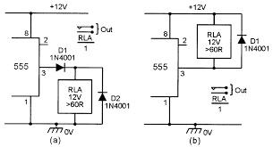 monostable circuits nuts volts magazine for the replacing r1 a series wired 10k fixed and 1m0 variable resistor and how a reset facility can be added to the circuit enabling the timing period