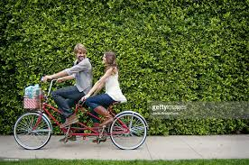 tandem bicycle stock photos and pictures getty images