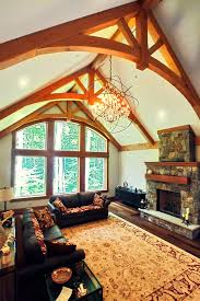 Great Room Timber Frame Great Rooms New Energy Works