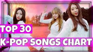 K Villes Top 30 K Pop Songs Chart January 2017 Week 2