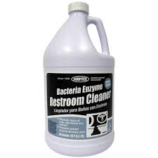 bacteria and enzyme restroom cleaner