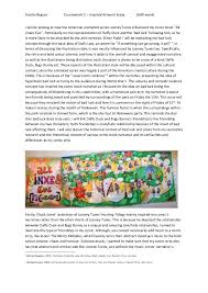 looney tunes inspired essay bad luck anisha begum coursework 2 inspired artwork essay 1649 words i will be looking at how