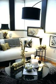 Grey And Gold Living Room Black White Gold Glam Living Room Just ...