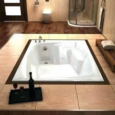 bathtub with tile drop in tub installation install bathtubs new st x rectangular alcove for