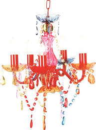multi colored chandelier 5 light multi coloured gypsy crystal chandelier ceiling light for girls room
