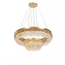 qihengzhaoming 2 light crystal chandelier ambient light 110 120v 220 240v