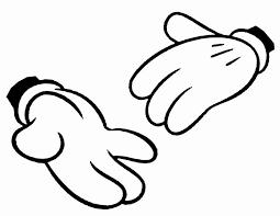 ミッキーマウス 手 イラスト Google 検索 手 パンチ ミッキー