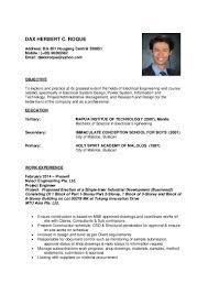 Sample Ng Resume Tagalog Resume Format Enderrealtyparkco 1 Inyes