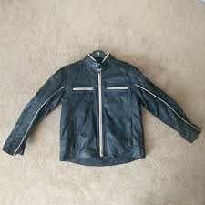 details about new triumph motorcycle leather men s jacket