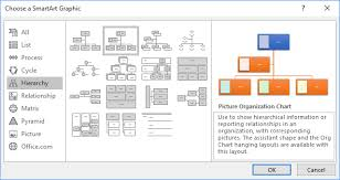 Create An Organization Chart With Pictures Microsoft