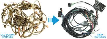 exact oem reproduction wiring harnesses for classic & muscle cars Reproduction Wiring Harness donor required wiring harnesses reproduction wiring harness 50 chevy truck