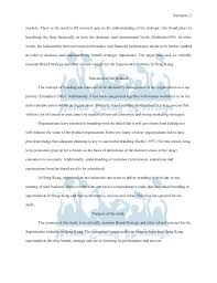 prime essay writings sample brand strategy for the supermarket indust   increasing globalised 2 prime essay