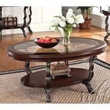 oval glass top coffee table bravo metal frame