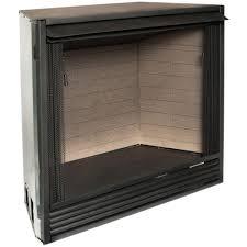 plain ideas gas ventless fireplace insert procom 42 1 in vent