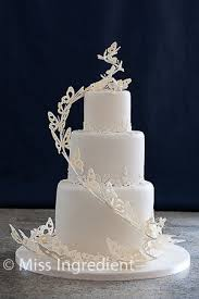 Butterfly Wedding Cake Debbie Brown Design Wwwmiss Ingred Flickr
