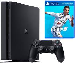 <b>Игровая приставка Sony</b> PlayStation 4 EUR СUH-2116А Slim ...