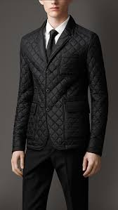 Burberry Leather Detail Quilted Blazer | Where to buy & how to wear & ... Burberry Leather Detail Quilted Blazer ... Adamdwight.com