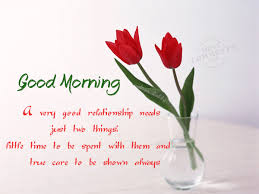 Good Morning Relationship Quotes Best of Good Morning A Very Good Relationship Needs DesiComments