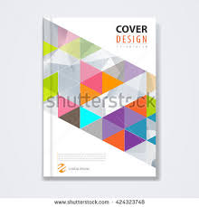 vector 424323748 shutterstock cover template brochure template layout book cover annual report magazine or booklet